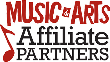 Music and Arts Affiliate Logo